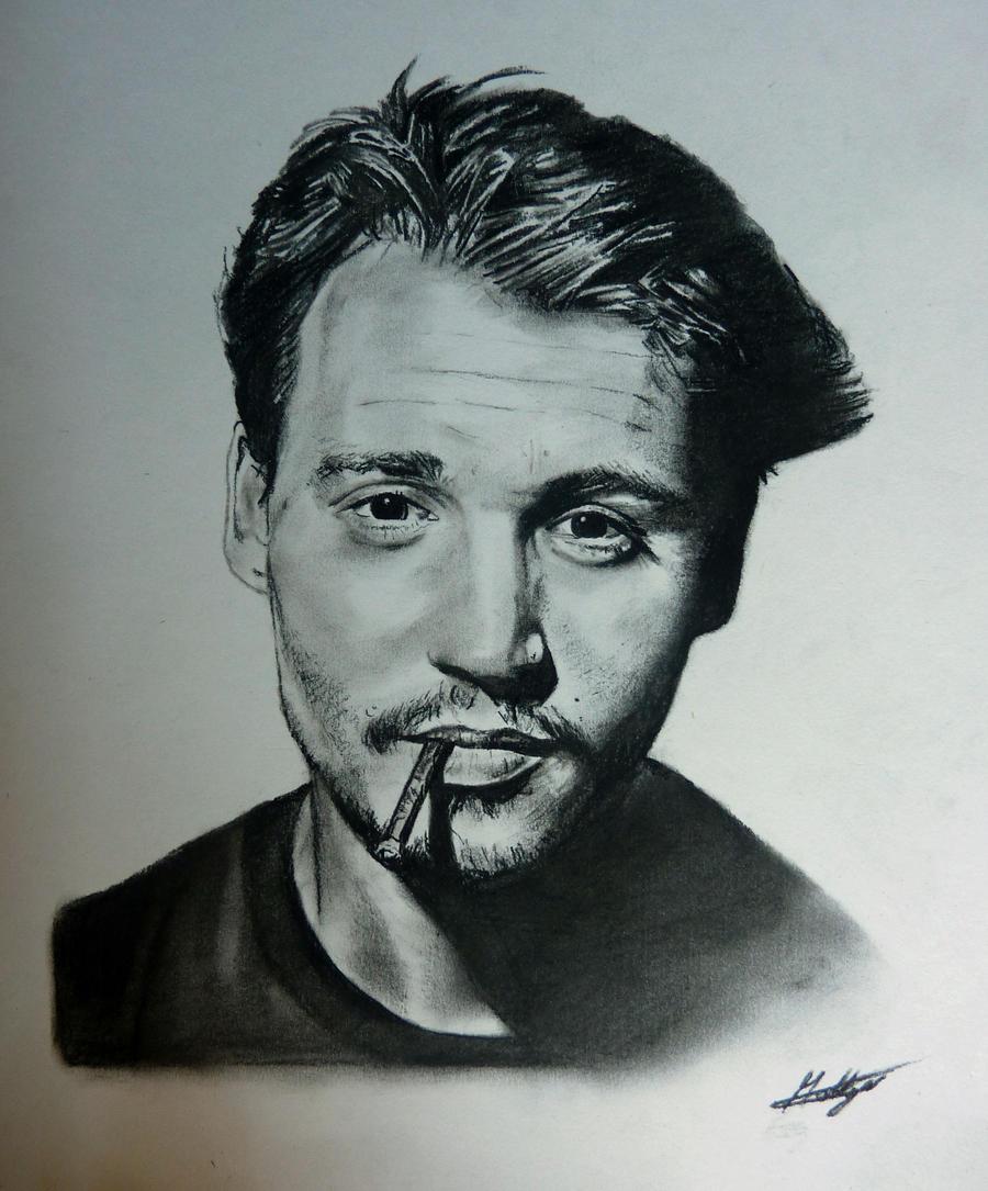 Johnny Depp. by MattGarnett
