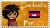 Cambodia stamp 1 by Prateh-Kampuchea