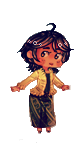 Tiny Indonesia pagedoll by Prateh-Kampuchea