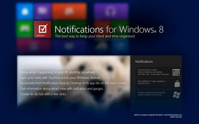 Notifications for Windows 8
