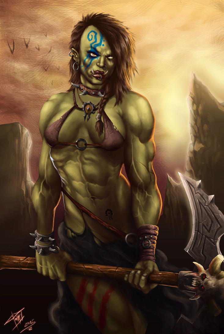 Orc art adulat nude pic