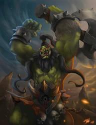 Berserk Orc!