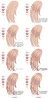Hair coloring tutorial by Nami-Nya