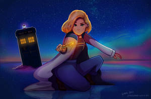 The Thirteenth Doctor by gem-313-gem