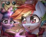 Pony-tail Party!