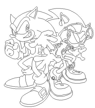 Sonic The Hedgehog Vs Scourge The Hedgehog Base 1 By Blackskullsonic89 On Deviantart