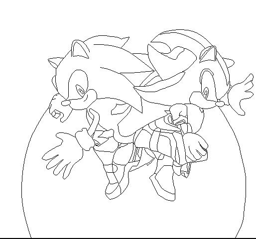 Sonic The Hedgehog Vs Shadow The Hedgehog Base 2 By Blackskullsonic89 On Deviantart