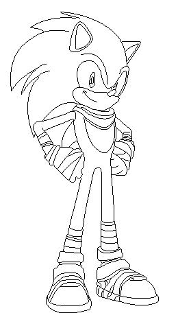 sonic the hedgehog in sonic boom