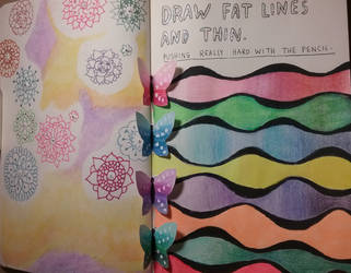 Wreck This Journal Fat Lines And Thin