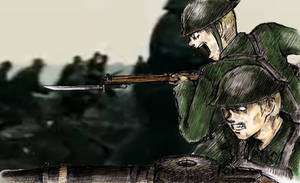 British troops WWI
