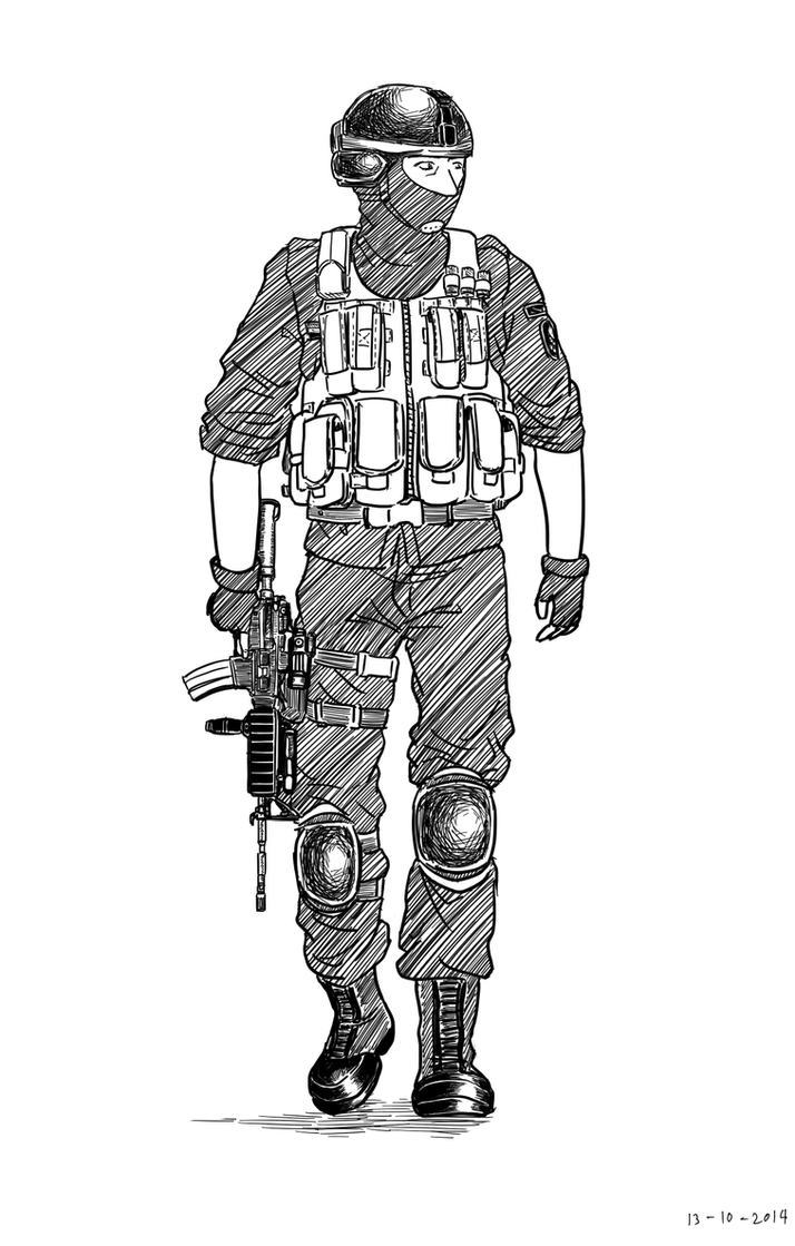 Iraqi Special Operations Forces by siwawuth