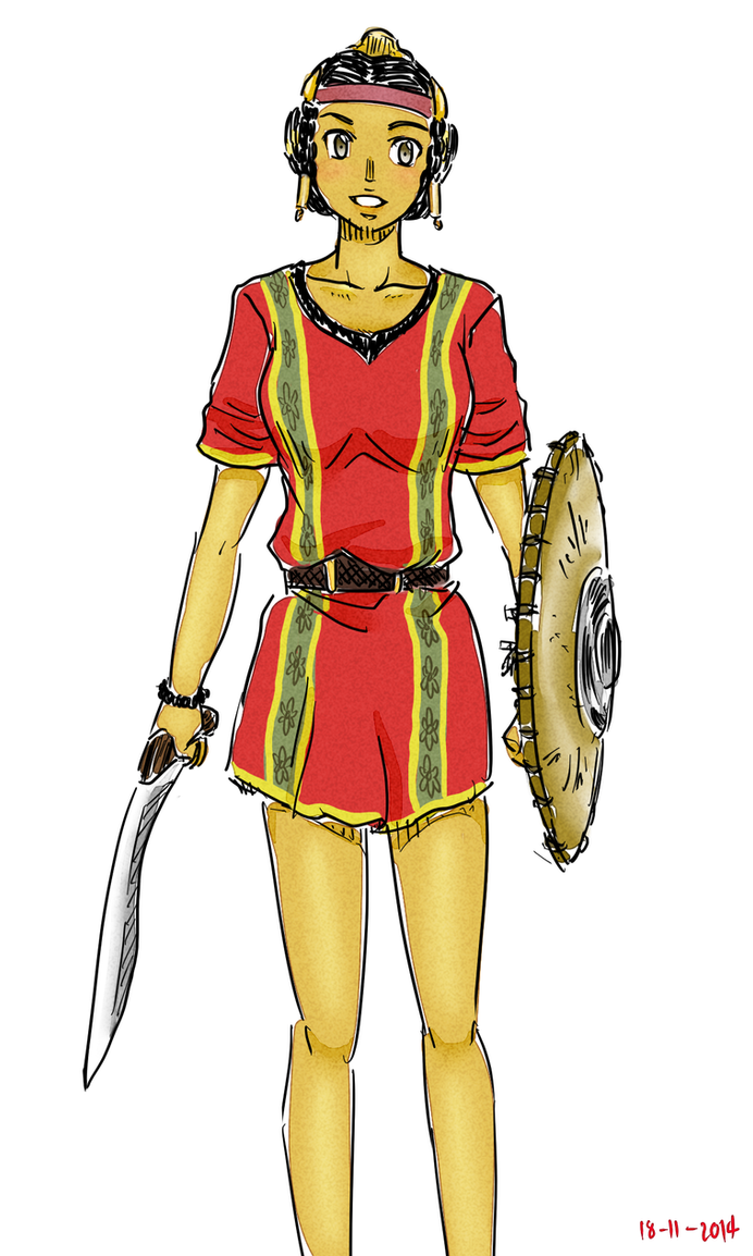 Lusitani Swordswomen by siwawuth