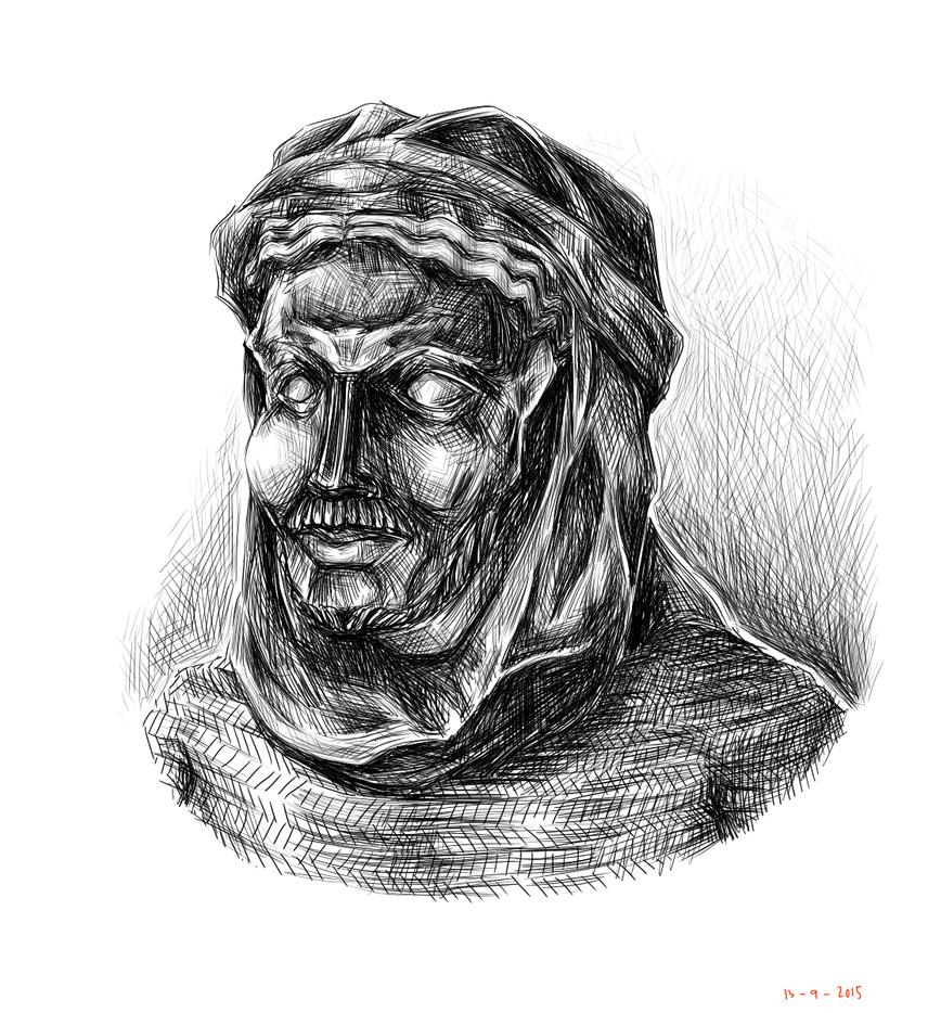 Himyar Mask Warrior by siwawuth