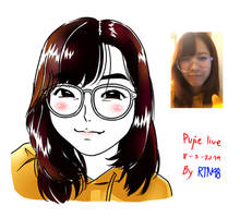 Pupe with Glasses by siwawuth