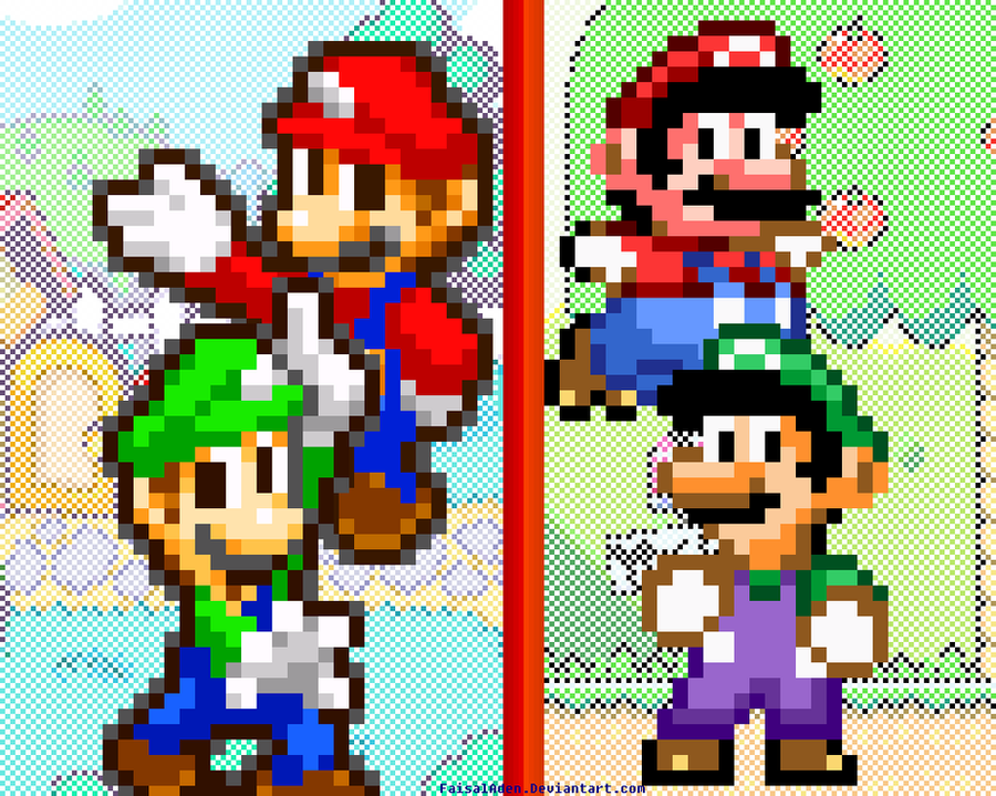 Super Mario Generations Power by FaisalAden
