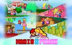 Mario X Peach - Couple Poster