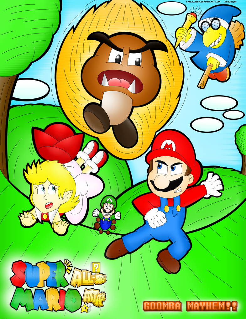 Super Mario All-Star Attack - Goomba Mayhem!! by FaisalAden