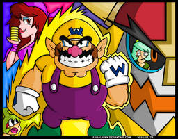 Time to SHAKE IT! Wario STYLE! by FaisalAden