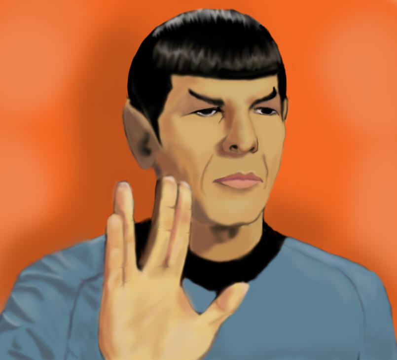 Spock by Spidergirl79