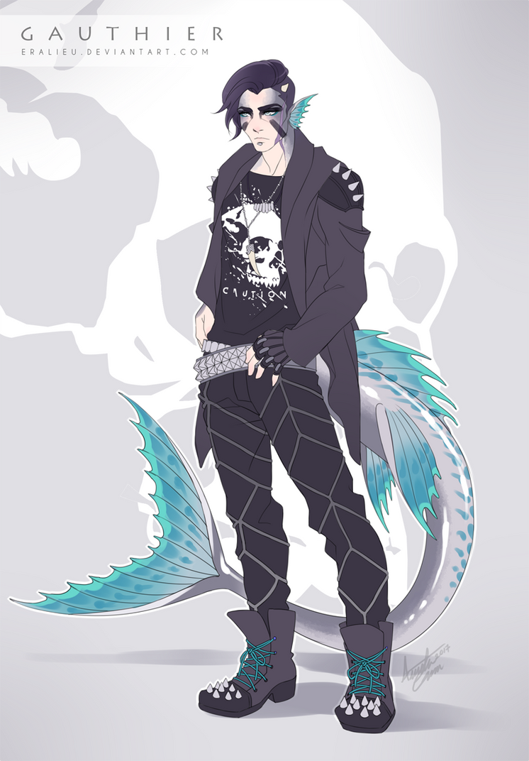 [T] Gauthier Character Ref by Eralieu