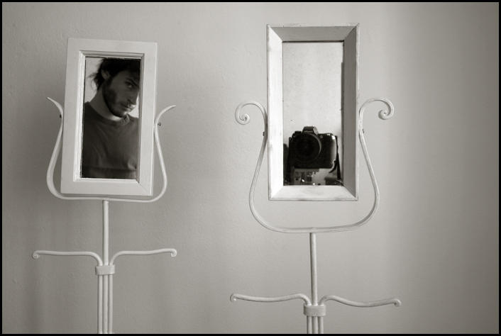 Self Portrait - Mirrors - by For-The-Glory