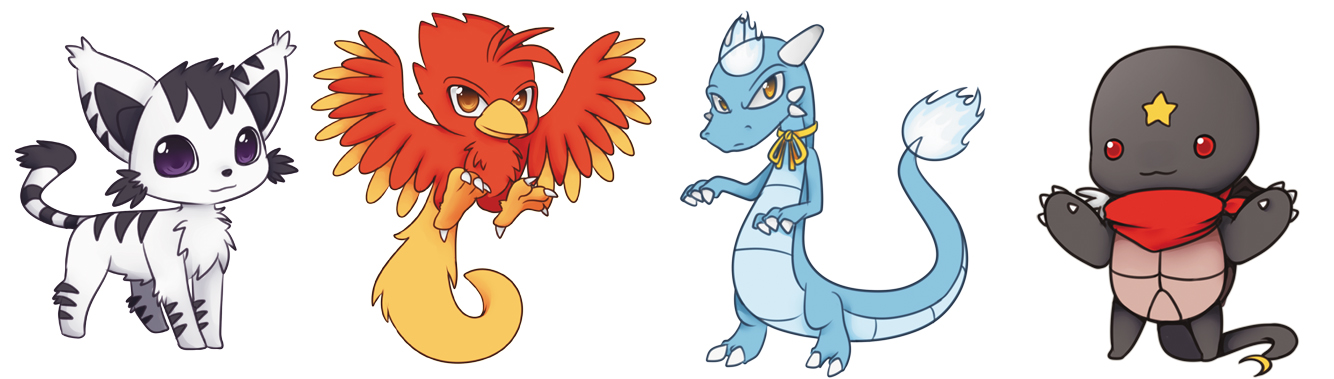 Magical Animal Mascots Contest Winners By Kami ConDA On