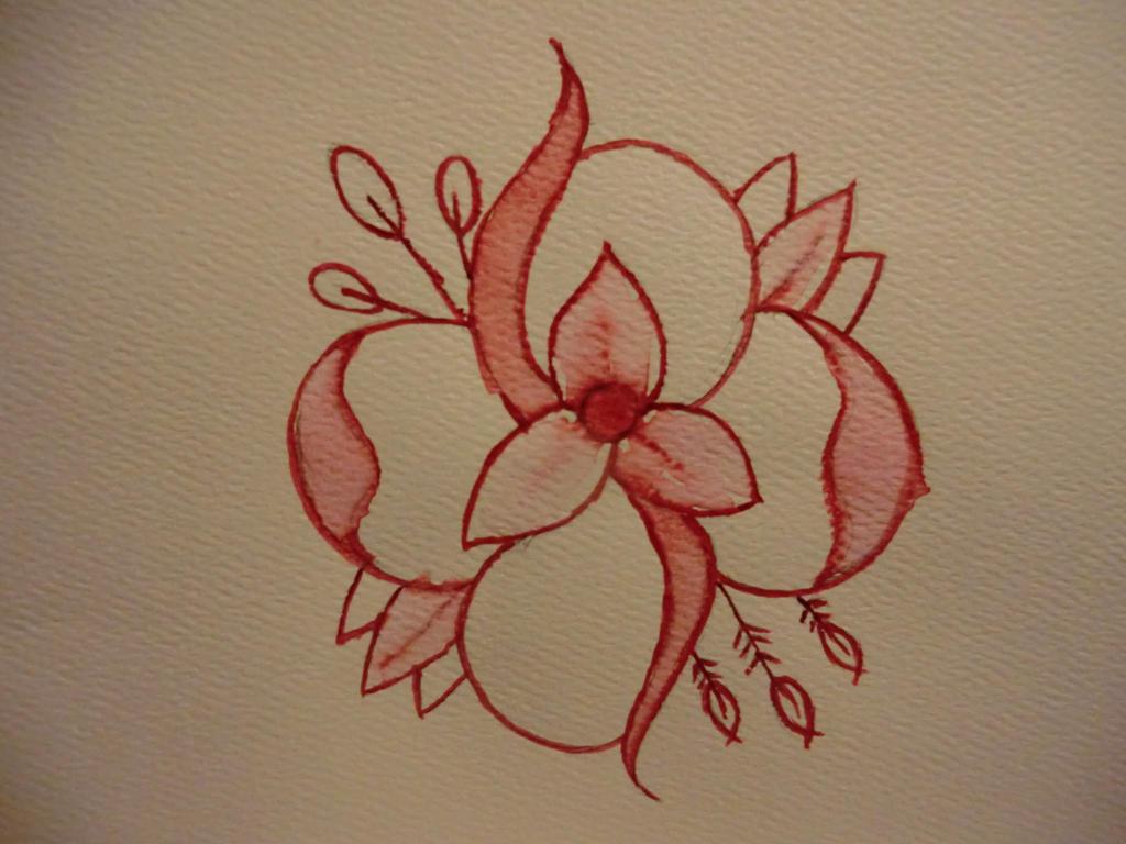 La dispute flower watercolor by dotclanajd on deviantART