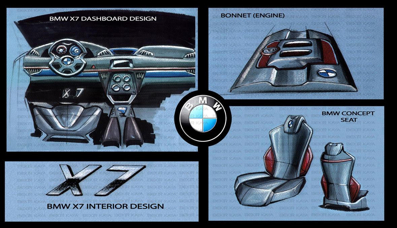 Bmw x7 седан фото