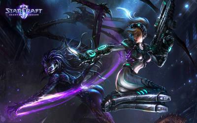 Kerrigan vs Nova - Zerus Edition by Dexistor371