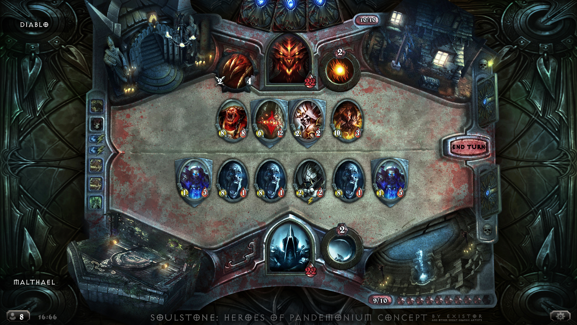 Soulstone: Heroes of Pandemonium - concept by Dexistor371