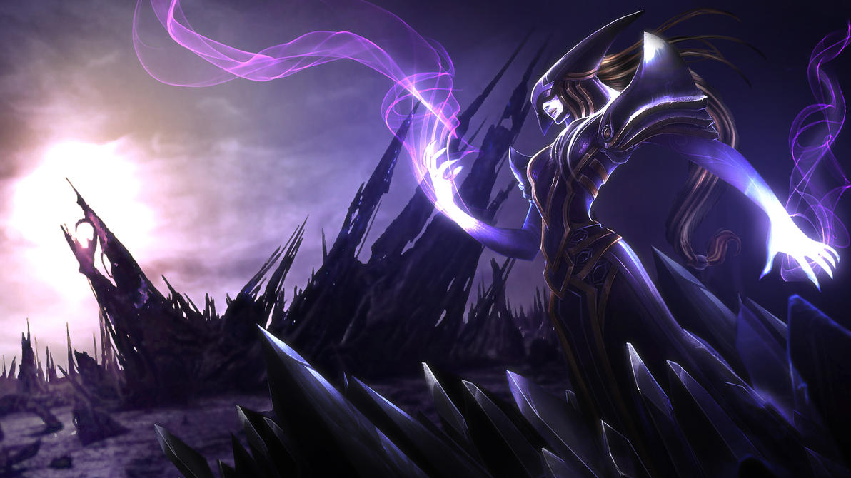 Void Lissandra by Dexistor371 on DeviantArt