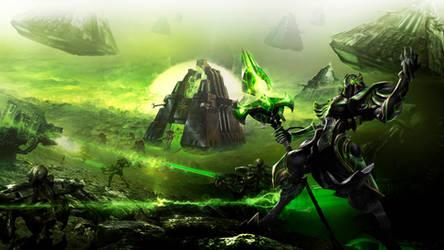 Necrontyr Azir by Dexistor371
