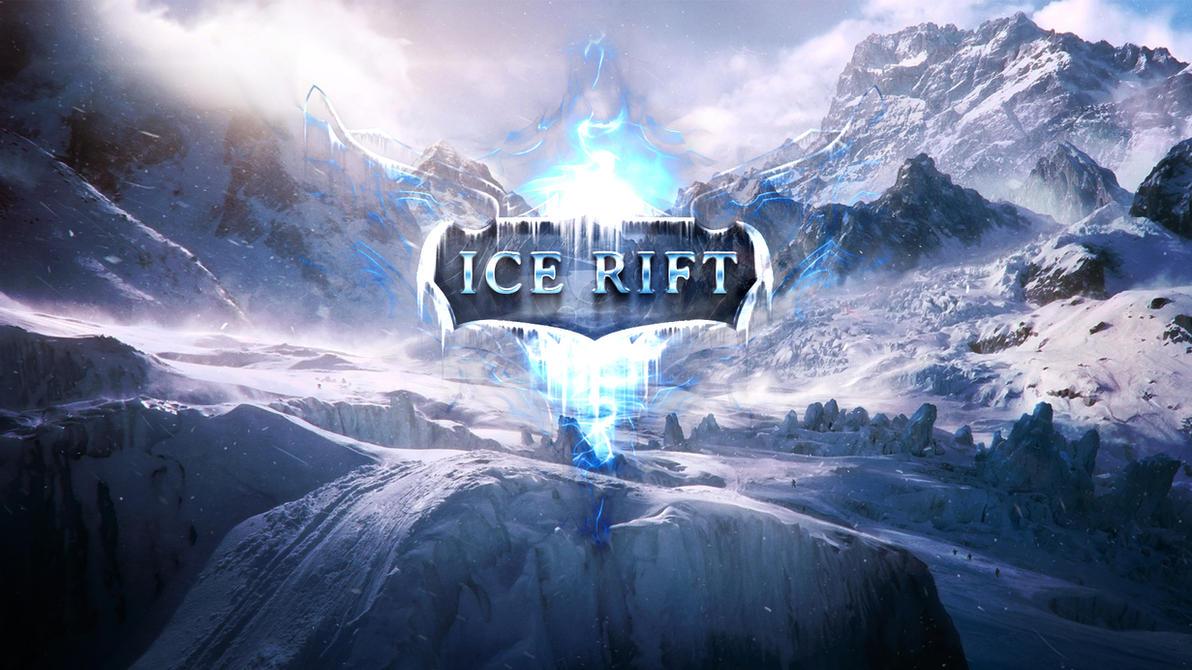 Ice Rift logo wallpaper by Dexistor371