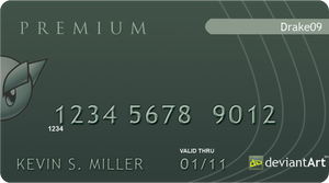 DA Credit Card Design Idea