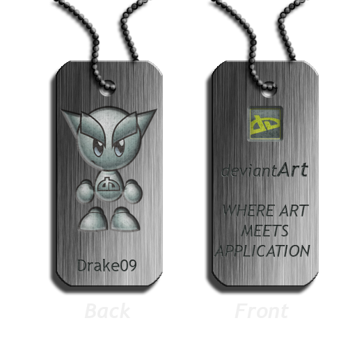 Dog Tag Idea for DeviantWear by Drake09