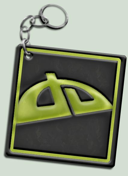 DA V7 Logo Keychain by Drake09