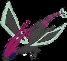 DarkDragonFiend Gift Art by Drake09