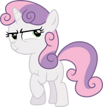 Evil thoughts Sweetie Belle