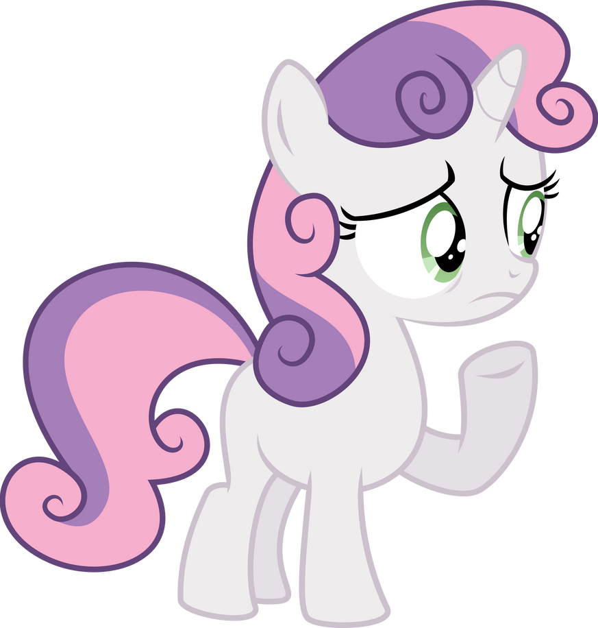 Worried Sweetie Belle by Yetioner