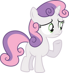 Worried Sweetie Belle