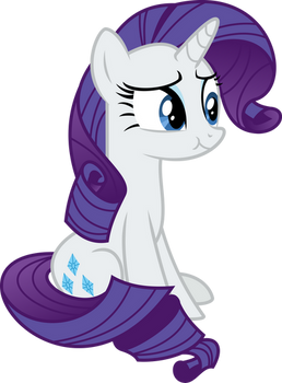 Rarity Chewing