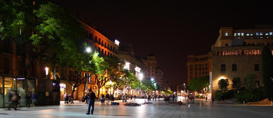 Catedral de Barcelona Square