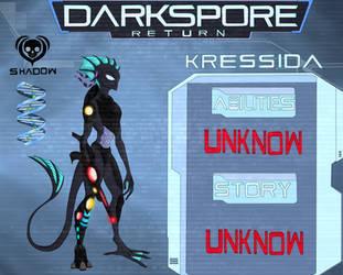 Darkspore Return - Kressida concept-art by AlienGryphon