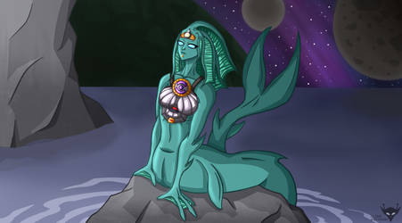 Alien mermaid by AlienGryphon