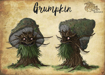 DarkCrystal AOR GRUMPKIN colour by chickenmonster1981