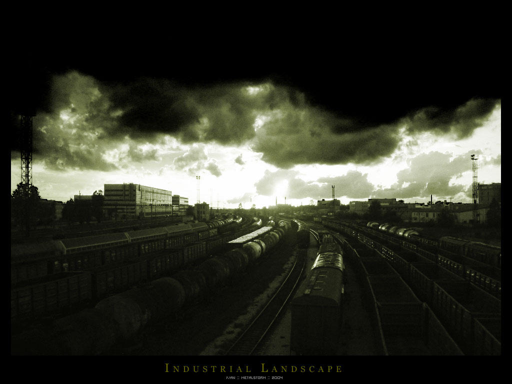 Industrial Landscape by Metalstorm