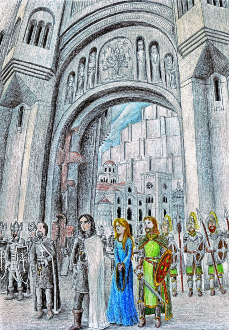 At the Gates of Minas Tirith
