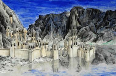 Halls of Caranthir by MatejCadil