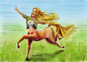 Joy of Running by MatejCadil