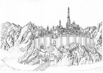 Gondolin in Splendour by MatejCadil